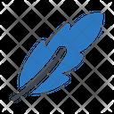 Feather Pen Art Icon