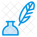 Feather Ink Pot Icon