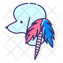 Feather Hair Accessory Icon