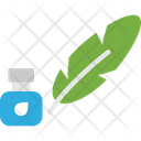 Feather Ink Icon