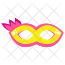 Feather Mask Party Mask Carnival Mask Icon
