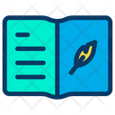 Feather Notebook Icon