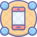 Features Mobile Smartphone Icon