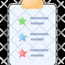 Features Checklist Tablet Icon