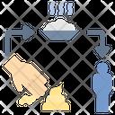 Fecal Spread Icon