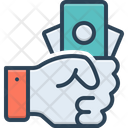 Fee Payment Wage Icon
