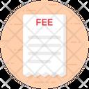 Fee List Icon