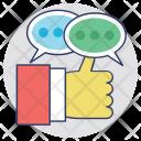 Testimonials Feedback Reviews Icon