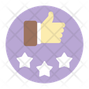 Feedback Reviews Thumbs Up Icon
