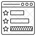 Feedback Reviews Webpage Icon