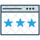 Rating Feedback Premium Icon