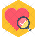 Heart Test Love Icon