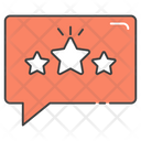 Feedback Testimonials Rating Icon