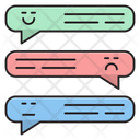 Feedback Review Chat Icon