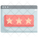 Feedback Rating Web Icon