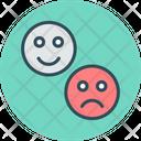 Impression Sad Happiness Icon