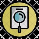 Evaluation Feedback Search Icon
