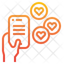 Feedback Rating Heart Icon