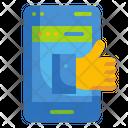 Feedback Review Thumb Icon