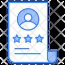 Feedback Rating User Icon