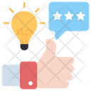 Feedback Thumbs Up Customer Response Icon