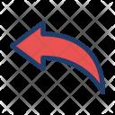 Feedback Reply Arrow Icon