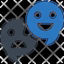 Feedback Social Media Emoji Icon