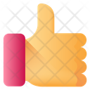 Thumbs Up Review Feedback Icon