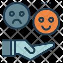 Feedback Happy Customer Icon