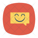 Feedback Bubble Smile Icon