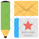Feedback Email Invitation Design Icon
