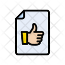 Feedback File Document Icon