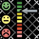Feedback Indicator Satisfaction Rating Icon