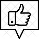 Feedback Message Icon