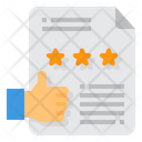 Review Rating Reward Icon