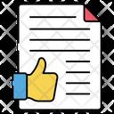 Feedback Paper Icon