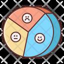 Feedback Pie Chart Icon