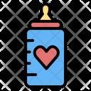 Feeding Bottle Feeding Baby Icon