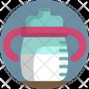 Baby Feeding Bottle Milk Icon