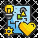 Feeling Design Love Design Heart Icon