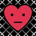 Feelingless Face Emoji Icon