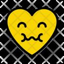 Sad Emoji Heart Icon