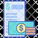 Fees Fees Document Fees Receipt Icon