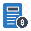 Document Sheet Education Icon