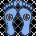 Feet Foot Print Icon
