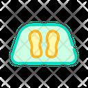 Clean Feet Carpet Icon