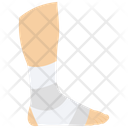 Feet Plaster Fracture Limb Plaster Icon