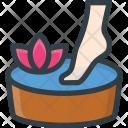 Pedicure Feet Fish Icon