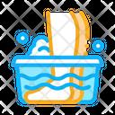 Feet Washing Infection Icon