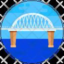 Fehmarn Sound Bridge Suspension Bridge Footbridge Icon